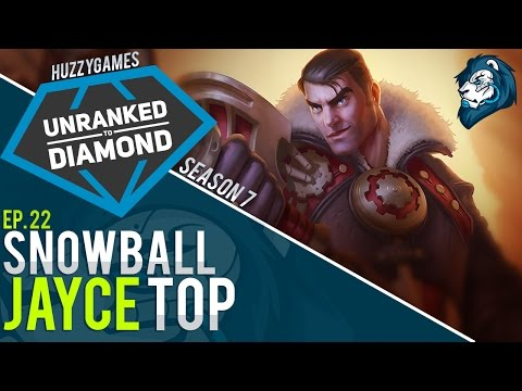 SNOWBALL JAYCE TOP - Unranked to Diamond - Episode 22