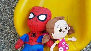Berat Spiderman Ve Niloya'yı Kaydıraktan Kaydırdı