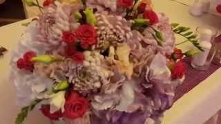 Оформление свадьбы в ресторане Вилла Вита от FLORISTE(, 2015-01-31T14:27:13.000Z)