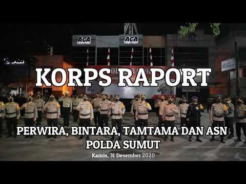 Korps Rapot kenaikan pangkat Perwira, Bintara, Tamtama dan ASN Polda Sumut