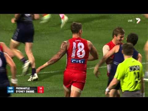 Preliminary Final 2 - Fremantle v Sydney Swans Highlights