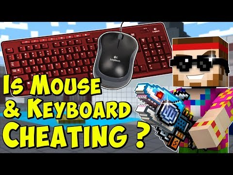 Is Mouse And Keyboard Cheating? Pixel Gun 3D Gameplay Discussion PG3D