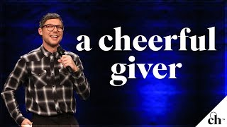 Video A Cheerful Giver // Judah Smith download MP3, 3GP, MP4, WEBM, AVI, FLV Juli 2018