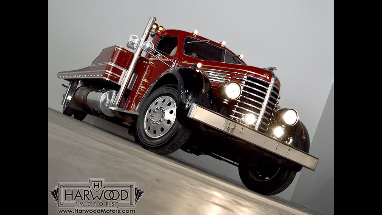 114058 1948 diamond t rollback truck sold