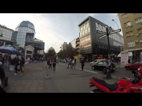 Go Pro in Center of Nis, Serbia....