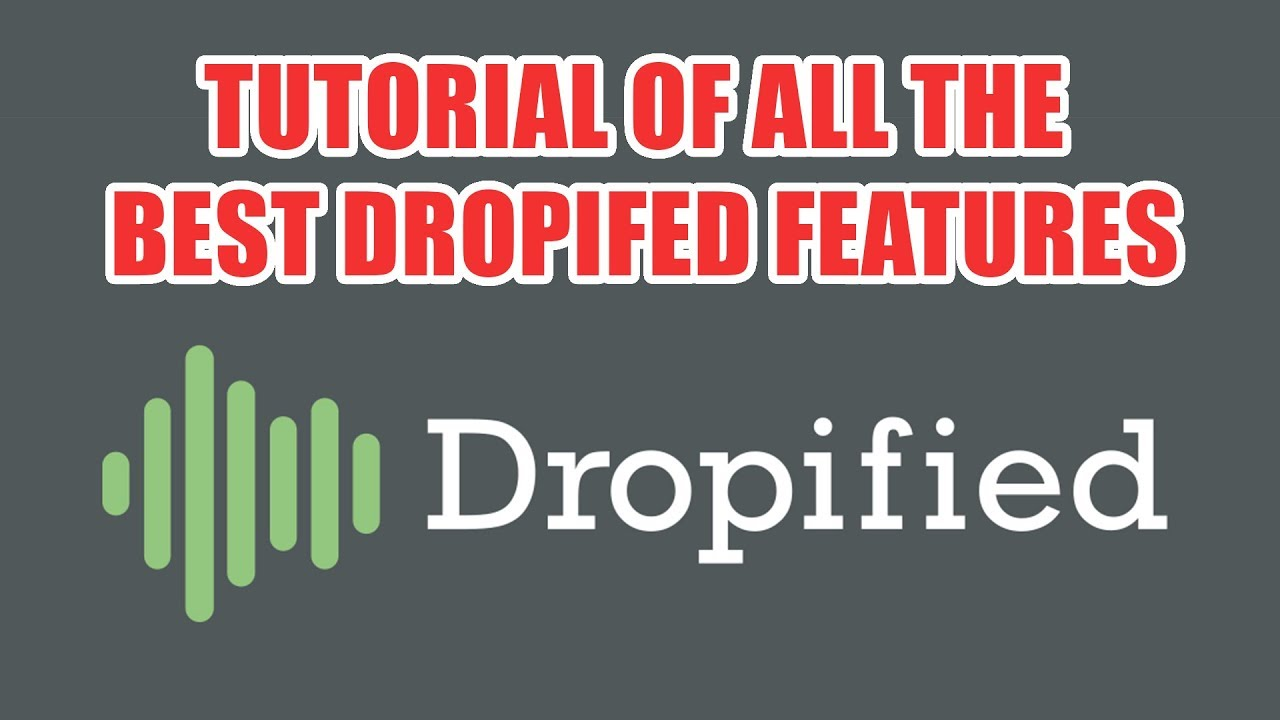 Tutorial Of All The Best Dropified Features - Using Dropified With Commerce  HQ or Shopify by Alan Young