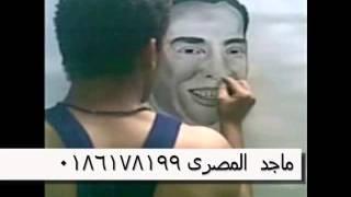 لوحه مرسومه للراحل الفنان اسماعيل ياسين رسم ماجد المصرى