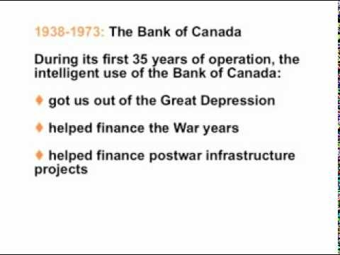 Using the Bank of Canada to Create Money