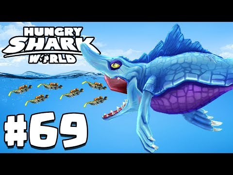 BIGGEST EVER MR SNAPPY SHARK! - Hungry Shark World Gameplay Part 69