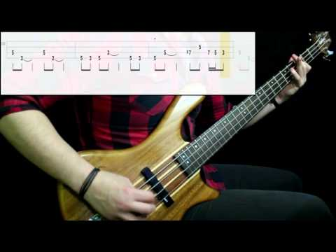Kansas - Carry On Wayward Son (Bass Cover) (Play Along Tabs In Video)