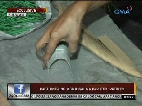 24 Oras: Pagtitinda ng mga iligal na paputok, patuloy