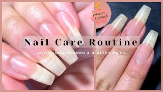 How To Grow LONG, STRONG and HEALTHY Nails Fast   Nail Care Routine For Beginners Without Tools