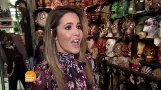 Halloween in Hollywood   Shae Wilbur on Good Morning Britain