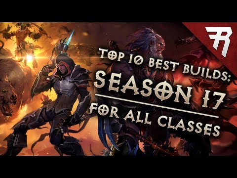 Rhykker] Top 10 Best Builds for Diablo 3 2 6 5 Season 17 (All