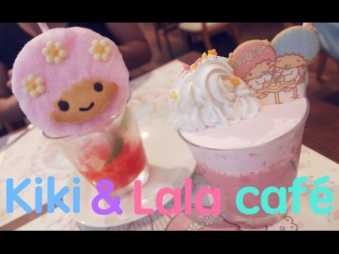 Little Twin Stars café  in Osaka // キキとララカフェ (2016) !