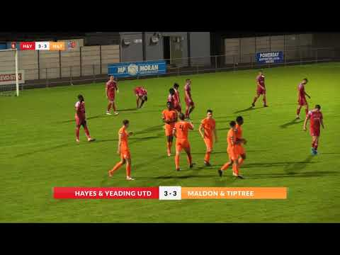 Hayes & Yeading v Maldon & Tiptree - 6th September 2017