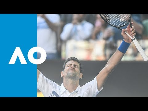 Novak Djokovic v Denis Shapovalov match highlights (3R) | Australian Open 2019