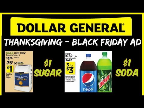 Dollar General Thanksgiving/Black Friday Ad