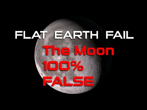 Flat Earth Fail | #1 The Moon 100% False thumbnail