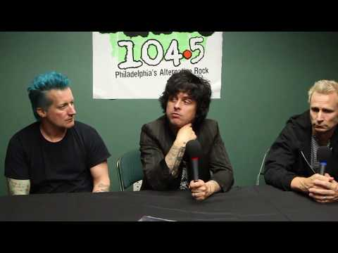 Green Day Interview- Revolution Radio Tour