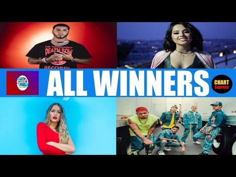 Latin AMA 2019 – ALL WINNERS | 2019 Latin American Music Awards 2019 | ChartExpress