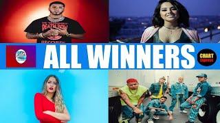 Latin AMA 2019 - ALL WINNERS | 2019 Latin American Music Awards 2019 | ChartExpress