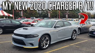 TAKING DELIVERY of my BRAND NEW 2020 Dodge Charger R/T!!