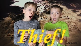 We Found a Real Treasure Chest! - The Thief / Steel Kids