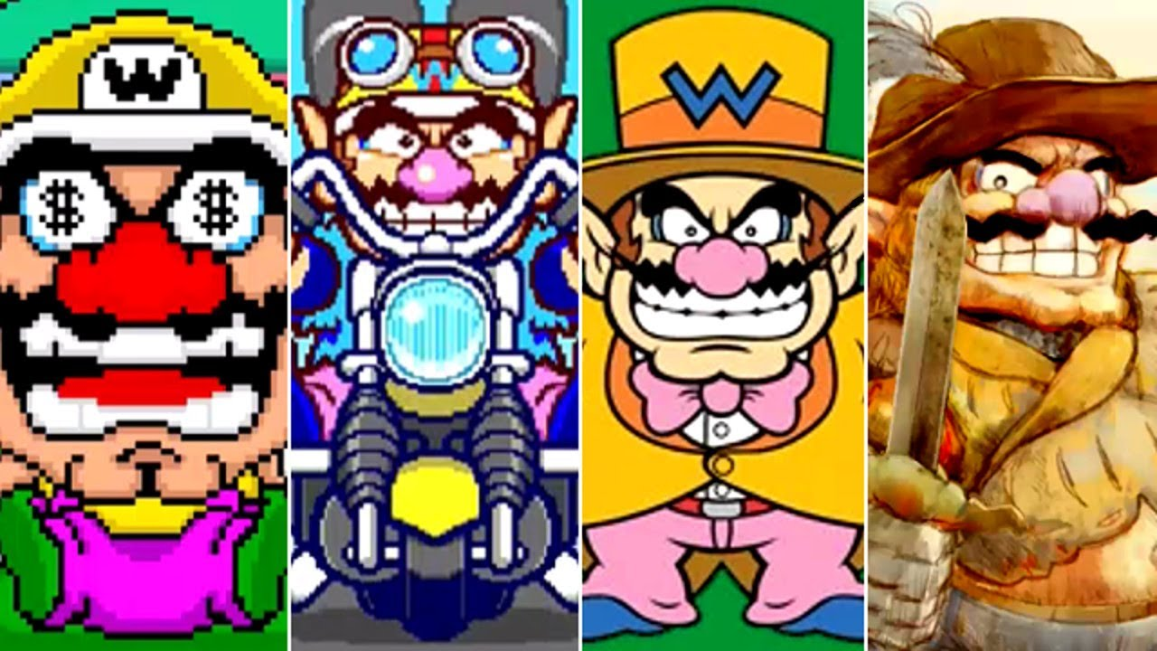 All Wario Intro Stages in WarioWare Games (2003-2021)