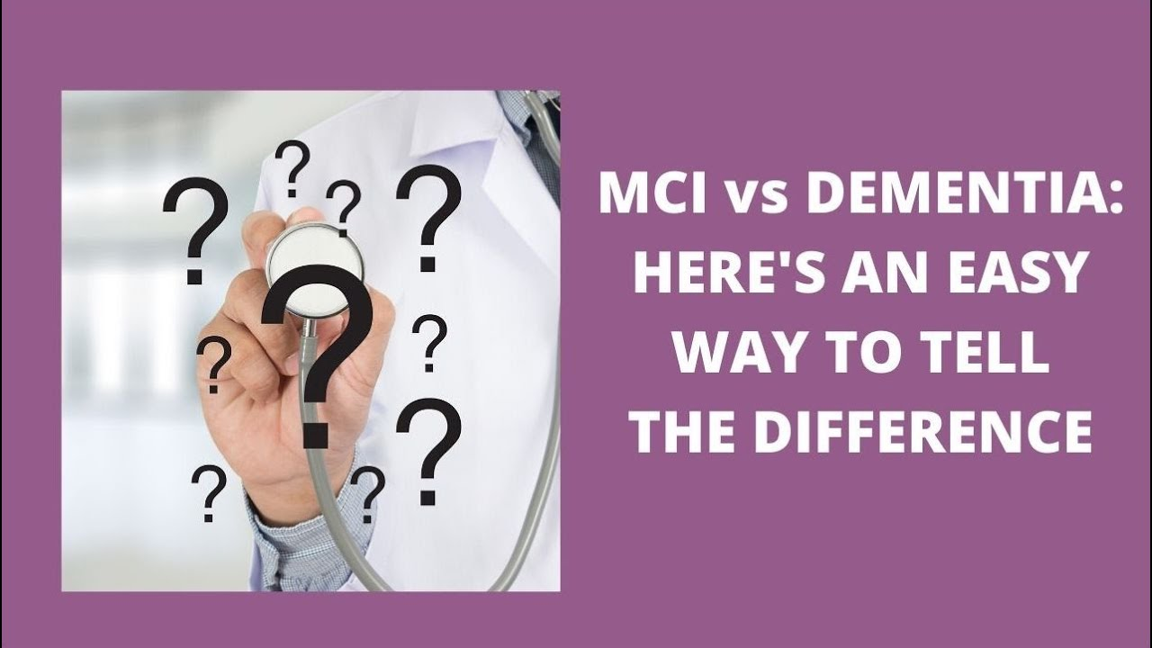 Download MCI v. dementia: How can you tell?