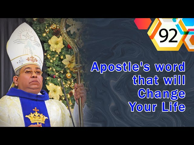 Apostle's word that will Change Your Life #92   His Holiness Apostle Rohan Lalith Aponso