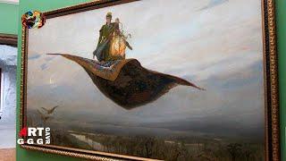 Ковер-самолет. Картина Виктора Михайловича Васнецова.