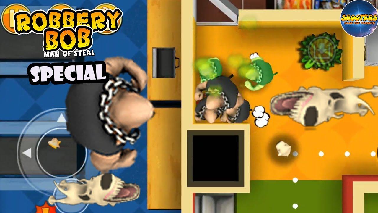 Robbery Bob – SPECIAL BOB #23: Biffen Vs Team Biffen Vs Angry Dog
