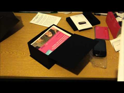 T-Mobile Pulse Mini Unboxing (Huawei U8110) *HD*