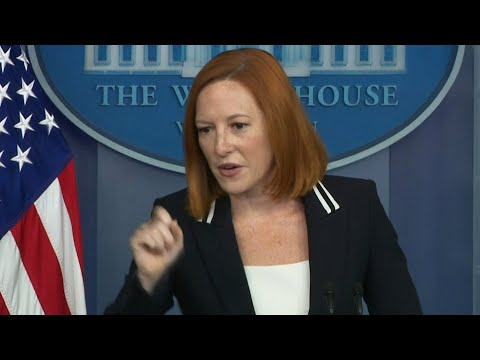 Jen Psaki fires back at male report's abortion question