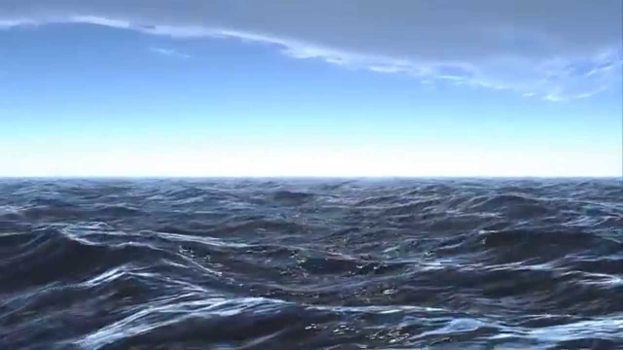 Water Animation Wallpaper 3d Ocean 3d Studio Max And Dreamscape Hd Youtube