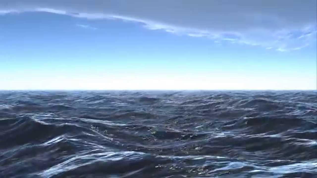 Hd Wallpaper Sea Beach 3d Ocean 3d Studio Max And Dreamscape Hd Youtube