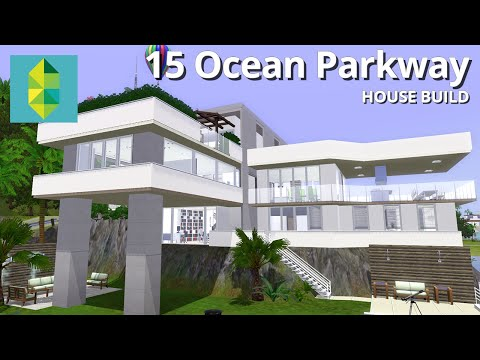 The Sims 3 House Building - 15 Ocean Parkway - Aluna Island