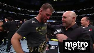 UFC 241: Stipe Miocic and Daniel Cormier Octagon Interview