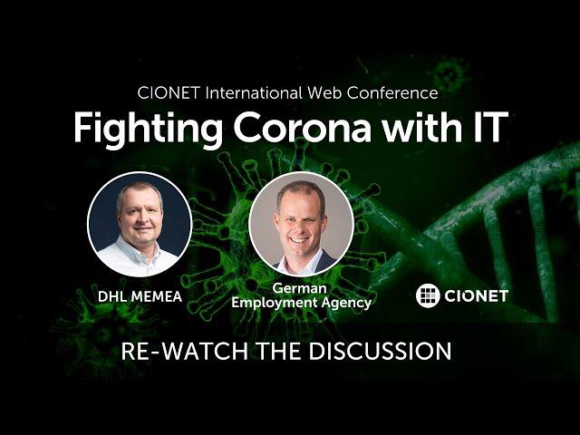 Fighting Corona with IT – Markus Schmitz & Paolo Magnani