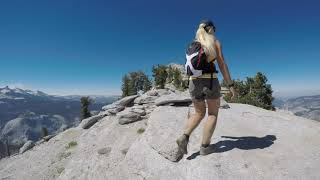 Clouds Rest, Yosemite National Park Full Hike in 4K