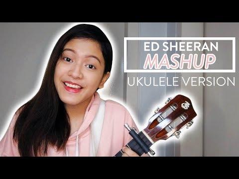 Selena Marie - Ed Sheeran Mashup (Ukulele)
