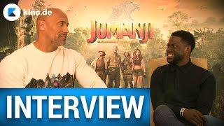 JUMANJI | Dwayne Johnson und Kevin Hart beschimpfen sich auf Deutsch