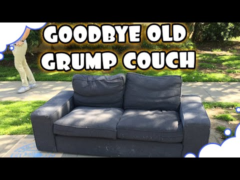 Goodbye Old Grump Couch! - GrumpOut