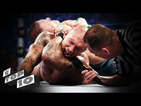 "Superstars Who Said ""I Quit"": WWE Top 10, May 2, 2015"