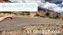 St George KOA || UTAH CAMPGROUND REVIEW