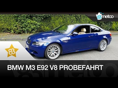 BMW M3 E92 V8 Coupé | BMW M3 Probefahrt | BMW M3 E92 Competition Paket | BMW M3 V8 Exhaust Sound