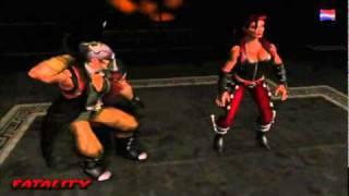 Mortal Kombat 6 Fatality (Part 1)