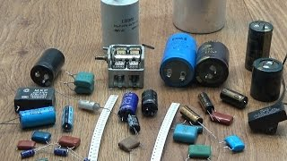 видео Типы и конструкции конденсаторов