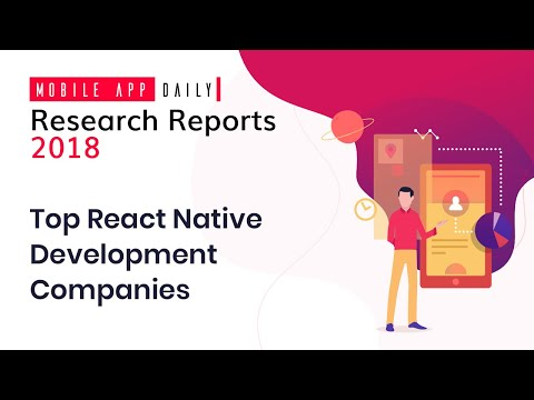 Top React Native Development Companies 2018 | MobileAppDaily